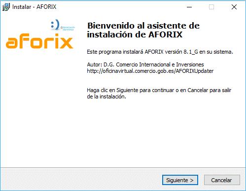 Instalación Aforix 1b