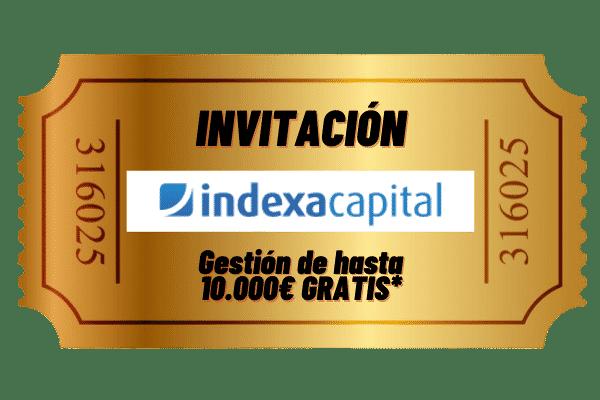Invitación 10.000€ Indexa Capital
